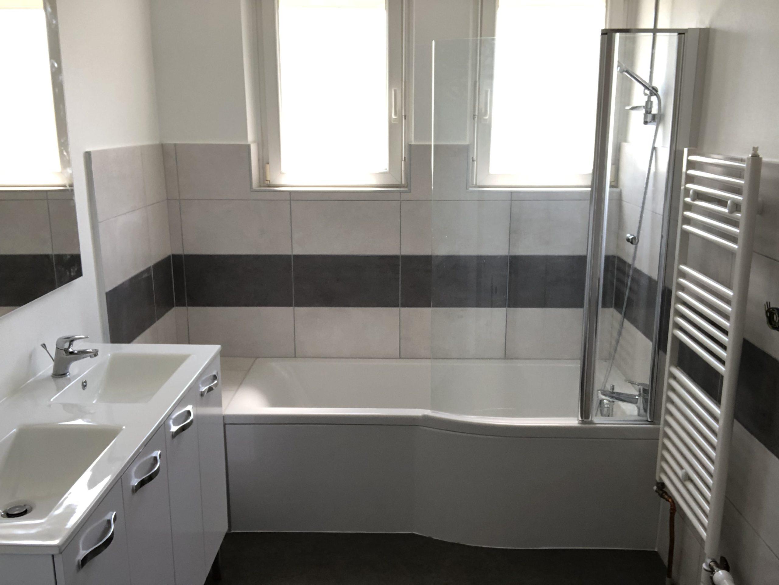 Salle de bains clefs en main
